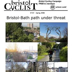 Bristol Cyclist magazine No.67 Spring 2008