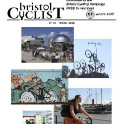 Bristol Cyclist magazine No.70 Winter 2008