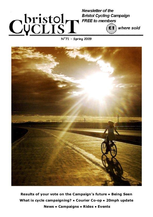 Bristol Cyclist magazine No.71 Spring 2009
