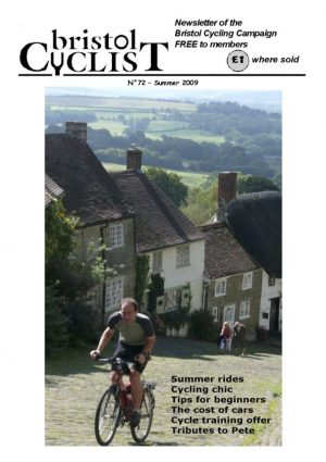 Bristol Cyclist magazine No.72 Summer 2009