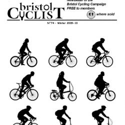 Bristol Cyclist magazine No.74 Winter 2009