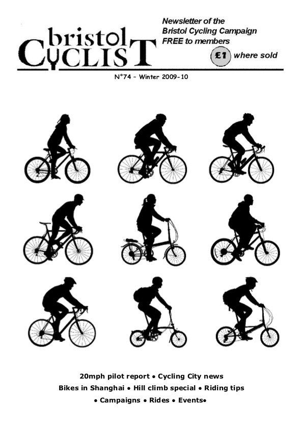 Bristol Cyclist magazine No.74 Winter 2009