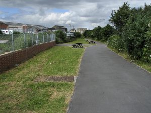 Site of Fishponds Railway Station (Author : Weirdoldhattie)