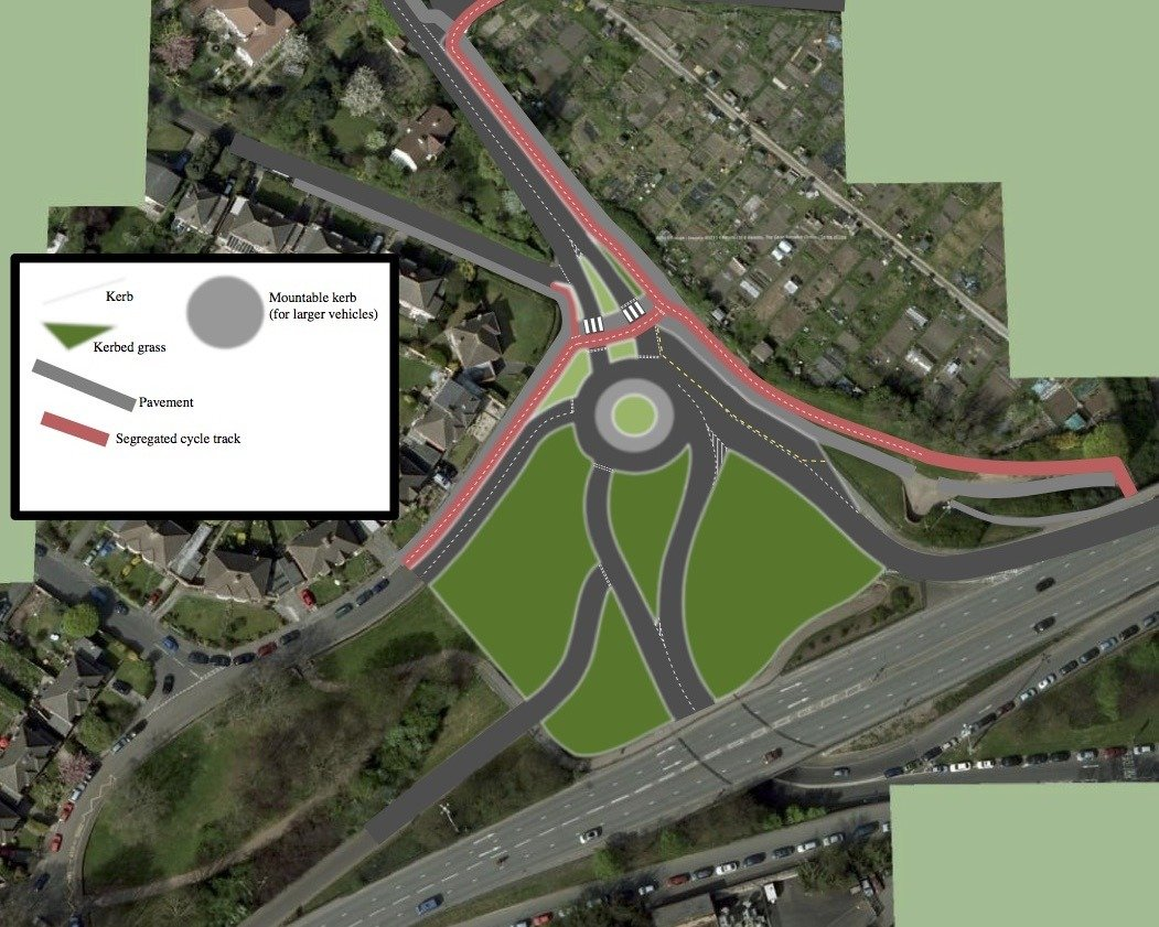 A Modest Proposal #4: Clanage Road Roundabout and the Festival Way