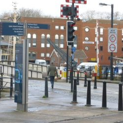 Threat to walking and cycling on Prince Street Bridge