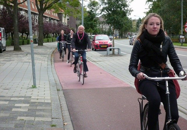 Why the Dutch Cycle, and what Bristol can learn