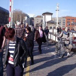 Campaign to keep Prince St Bridge for people walking and cycling