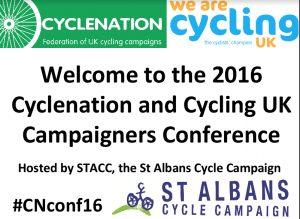 BCyC team inspired by 2016 Cyclenation Conference – Report