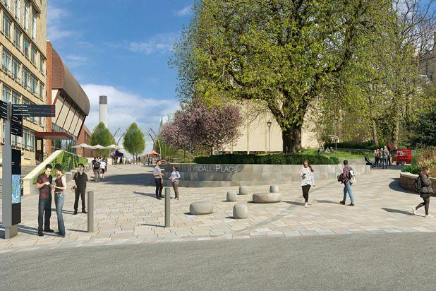 Bristol University Tyndall Avenue public realm changes - our response
