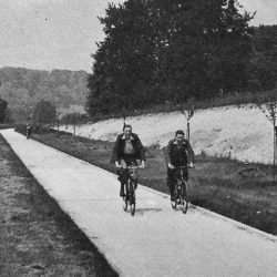 Britain's forgotten 1930s protected cycleways
