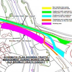 Bromley Heath Viaduct works – a cycling opportunity?