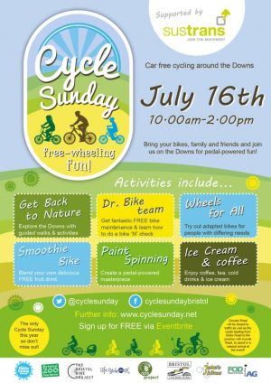 A Summer of Cycling! Bristol Cycle Festival, Cycle Sunday, City Ride, Bristol Grand Prix, Peaceful Portway