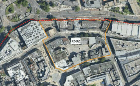 Callowhill Court - large development, carpark and change to routes around Broadmead - our response
