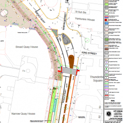 Cycle lane plans for Prince Street