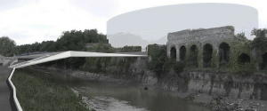 Closures to river Avon footpaths – for railway and new footbridge