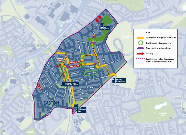 Easton Safer Streets - ask councillors to support