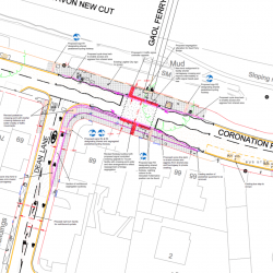 Proposals for Coronation Rd – Dean Lane crossing