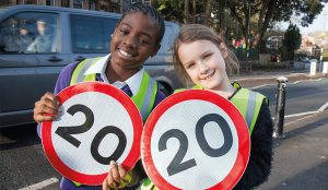 20mph in Bristol saves more than 4 lives a year