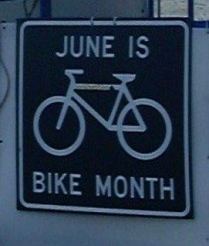 June is bike month