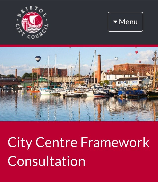 Bristol's City Centre Framework - we've responded