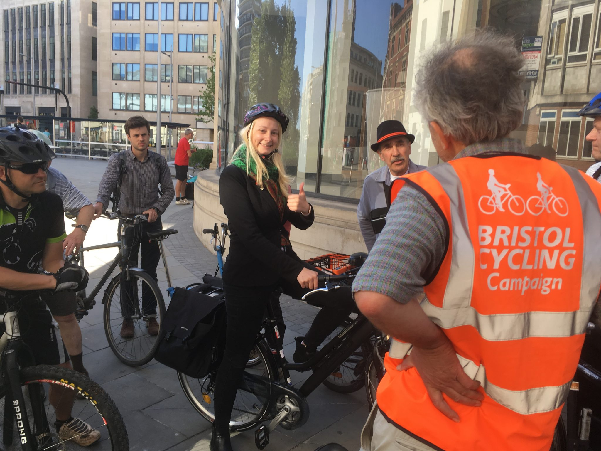 Bristol Cycling gives rolling feedback to Council