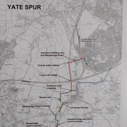 Cycling around Yate – the Spur and other routes