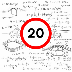 7 Reasons Einstein would support 20 mph