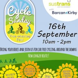 Cycle Sunday 2018 – 16 September