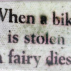 What to do if your bike is stolen