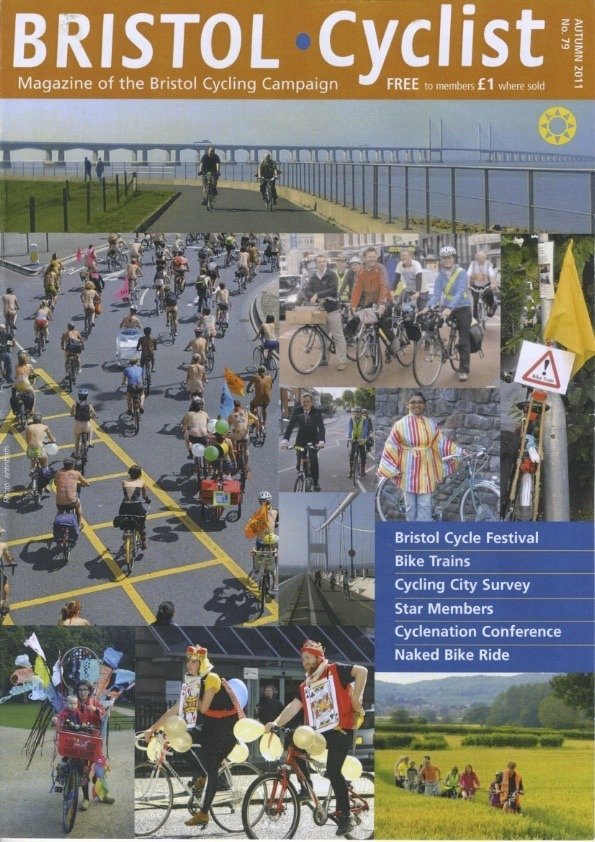 Bristol Cyclist magazine No.79 2011 Autumn