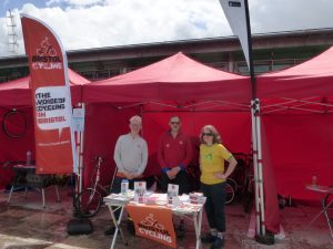 BCyC stall at Let's Ride 2019