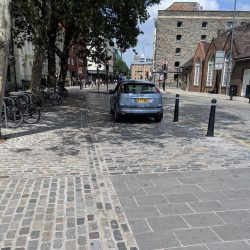 Reporting illegal and obstructive car parking