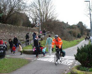 Bristol to Bath Railway Path Safety