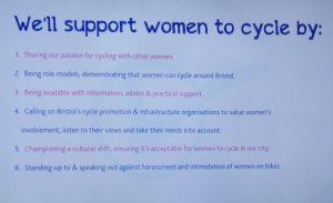 Bristol Women's Cycling Charter