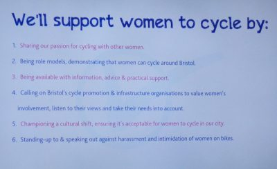 Bristol Women's Cycling Charter