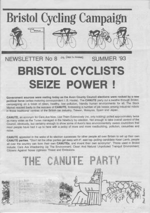 Bristol Cyclist magazine No.8 Summer 1993