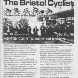 Bristol cyclist magazine No.19 Spring 1996