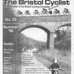 Bristol cyclist magazine No.20 Summer 1996