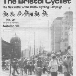 Bristol cyclist magazine No.21 Autumn 1996