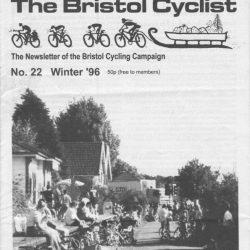 Bristol cyclist magazine No.22 Winter 1996