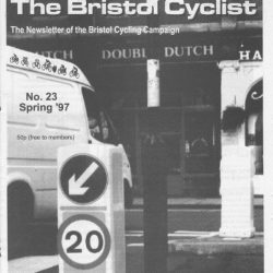 Bristol cyclist magazine No.23 Spring 1997