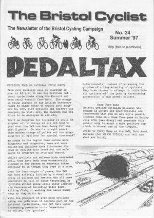 Bristol cyclist magazine No.24 Summer 1997