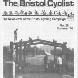 Bristol cyclist magazine No.28 Summer 1998