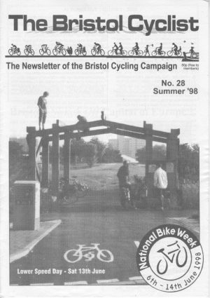 Bristol cyclist magazine No.28 Summer 1998