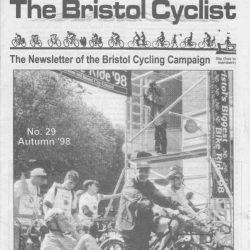 Bristol cyclist magazine No.29 Autumn 1998