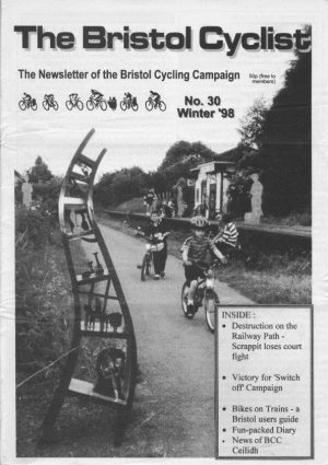 Bristol cyclist magazine No.30 Winter 1998