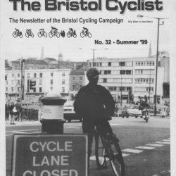 Bristol cyclist magazine No.32 Summer 1999