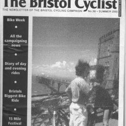 Bristol cyclist magazine No.36 Summer 2000