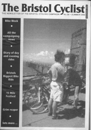 Bristol cyclist magazine No.36 Summer 2000