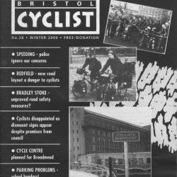 Bristol cyclist magazine No.38 Winter 2000
